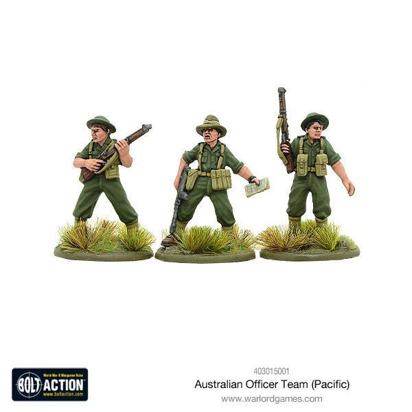 Australian Officer Team (Pacific) | Mythicos