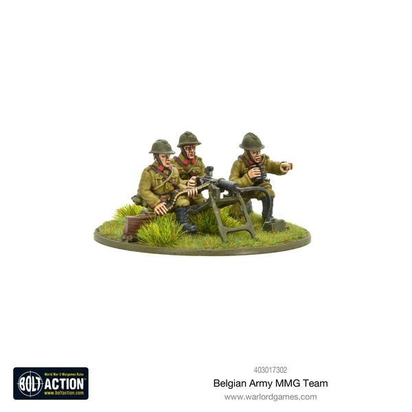 Belgian Army MMG Team | Mythicos