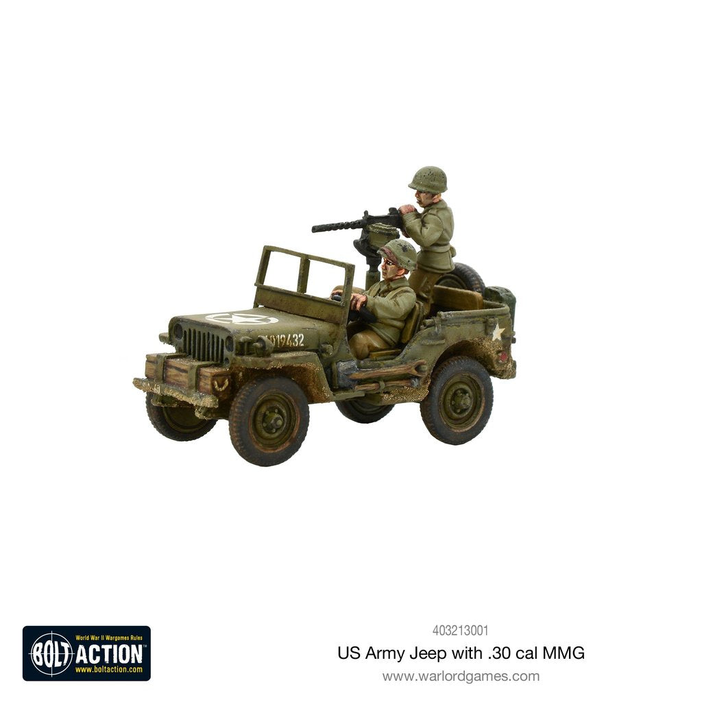 US Army Jeep with 30 Cal MMG | Mythicos