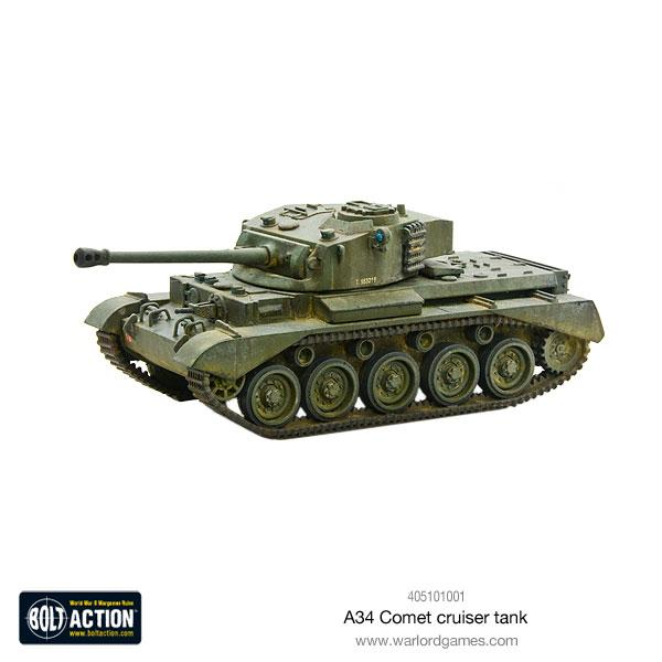 A34 Comet Heavy Tank | Mythicos