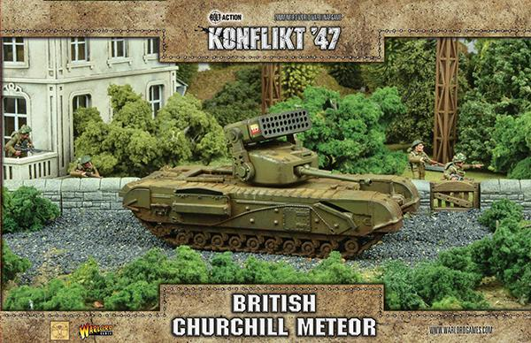 Konflikt 47' British Churchill Meteor | Mythicos