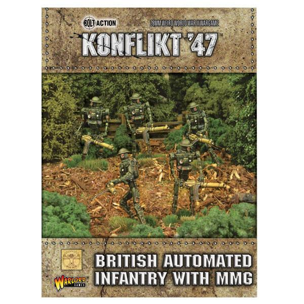 Konflikt 47' British Automated Infantry with MMG | Mythicos