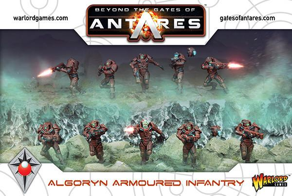 Algoryn Armoured Infantry | Mythicos