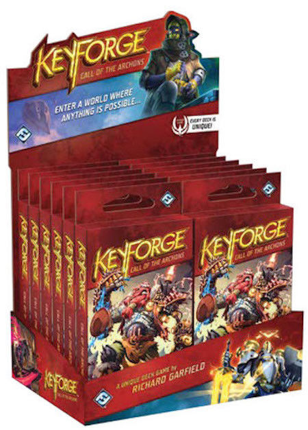 Keyforge: Call of the Archons Display (Booster Box) | Mythicos
