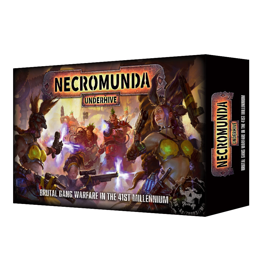 Necromunda: Underhive Starter Set (Out of Print) | Mythicos
