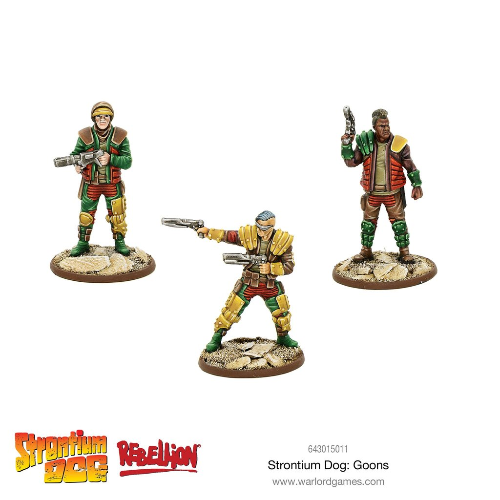 Strontium Dog Goons Blister | Mythicos