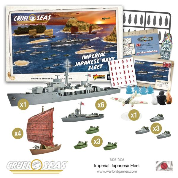Imperial Japanese Navy Fleet | Mythicos