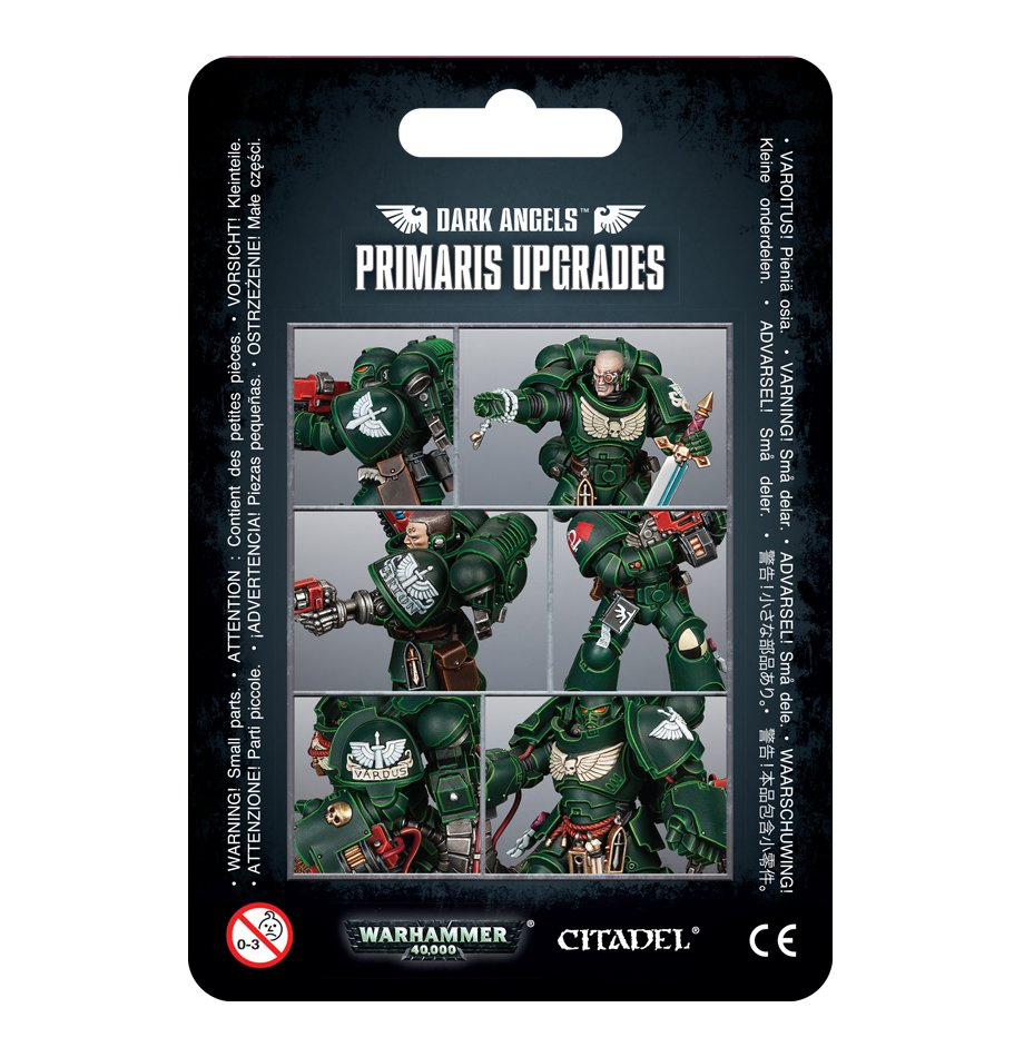 Dark Angels Primaris Upgrades | Mythicos