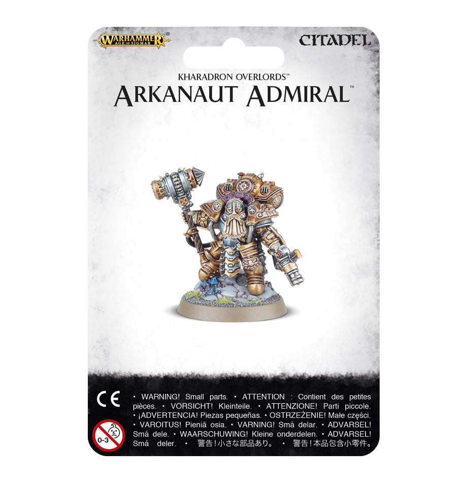 Kharadron Overlords Arkanaut Admiral | Mythicos