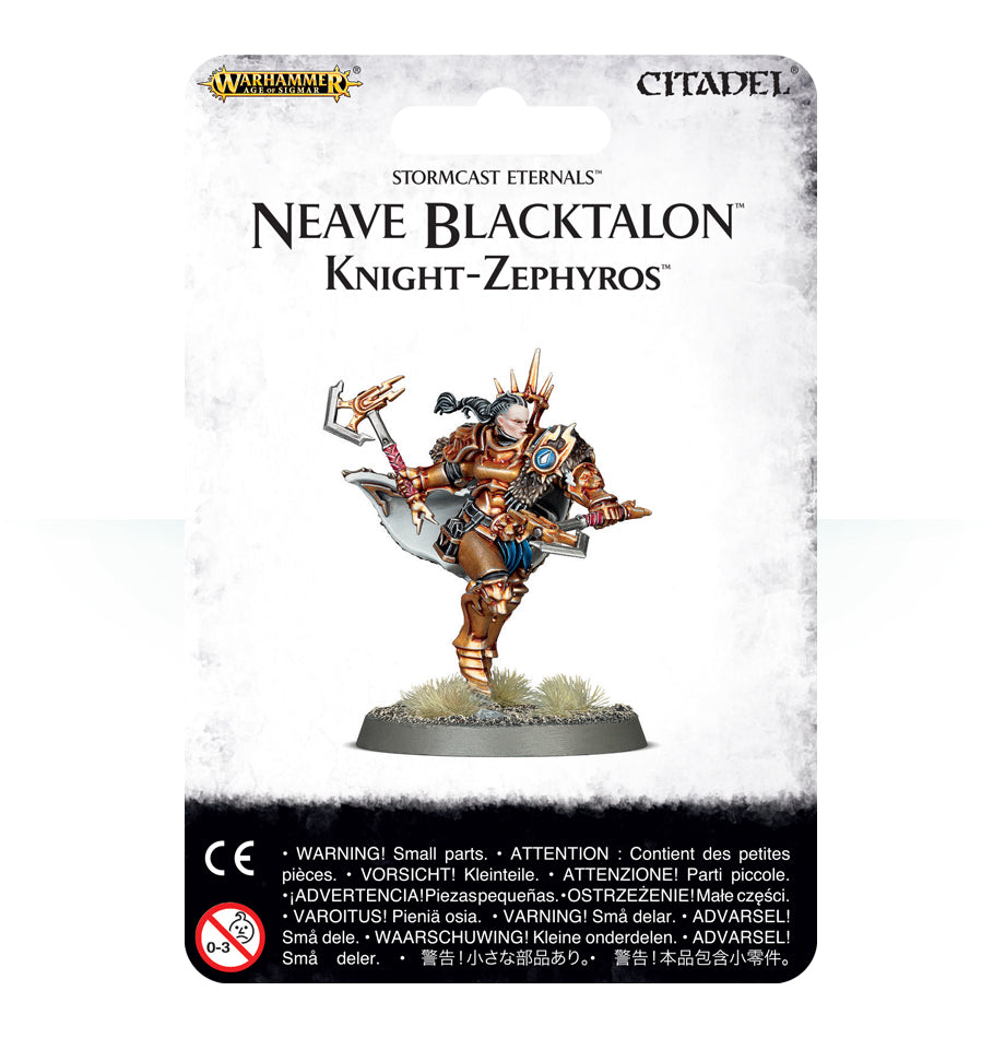 Neave Blacktalon: Knight-Zephyros | Mythicos