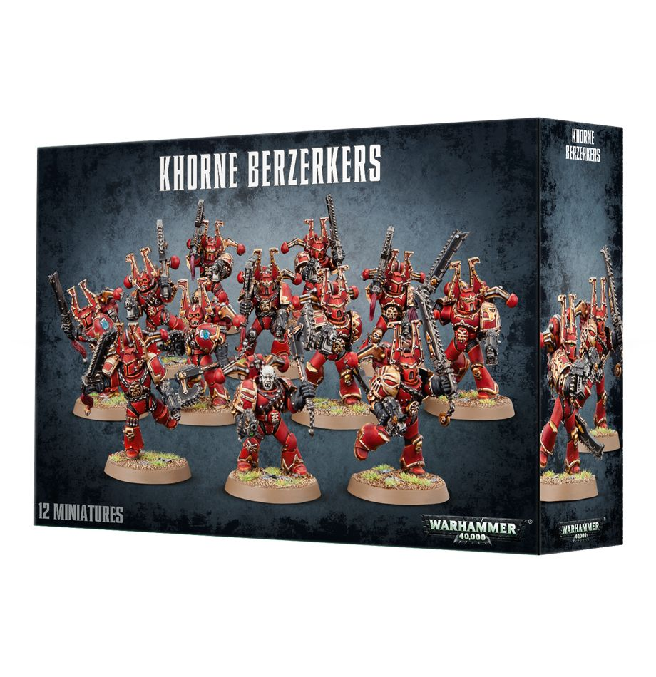 Chaos Space Marines Khorne Berzerkers | Mythicos