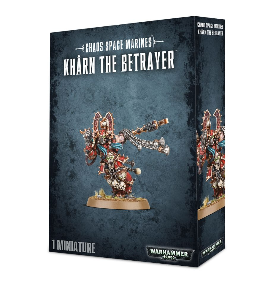 Chaos Space Marines Khârn the Betrayer | Mythicos