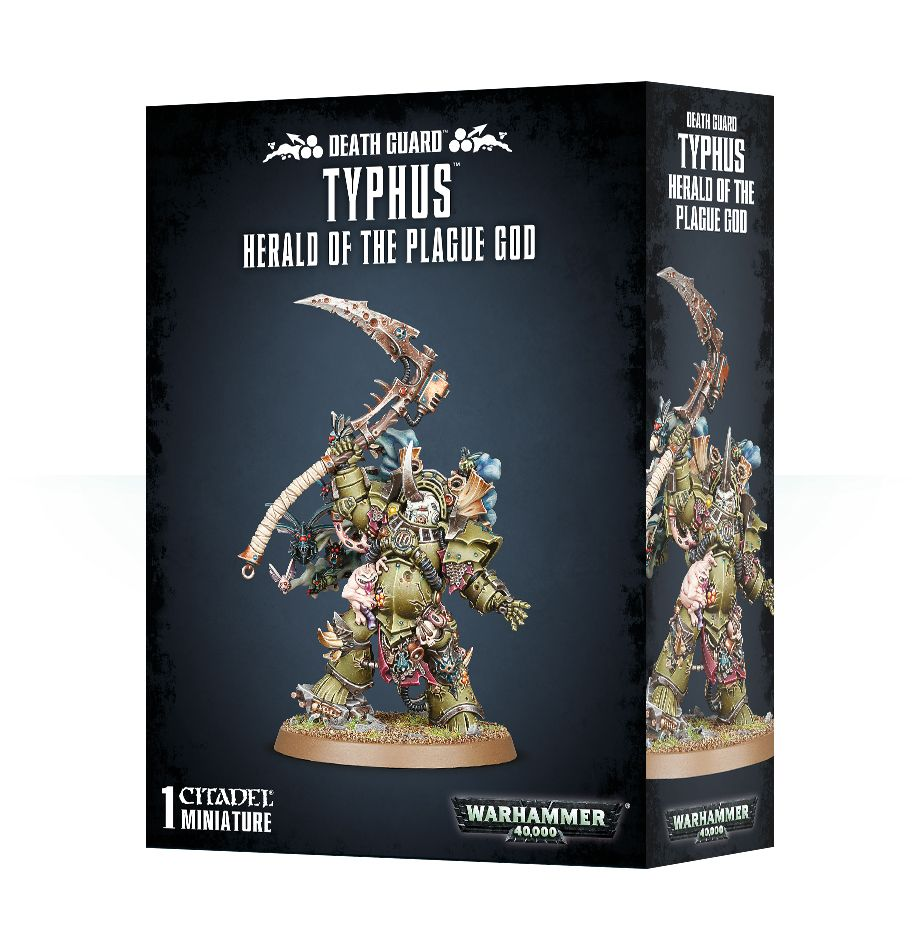 Typhus, Herald of the Plague God | Mythicos