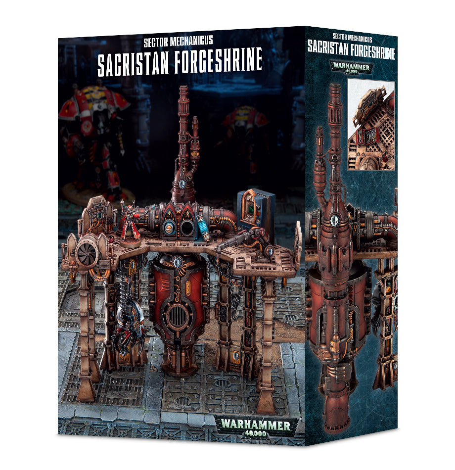 Sector Mechanicus Sacrastan Forgeshrine