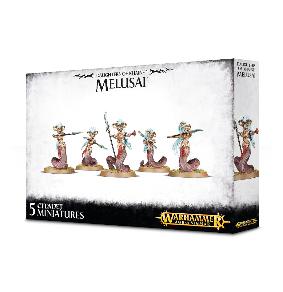 Melusai Blood Sisters / Melusai Blood Stalkers (Daughters of Khaine) | Mythicos