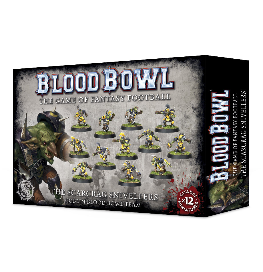 The Scarcrag Snivellers - Goblin Blood Bowl Team | Mythicos