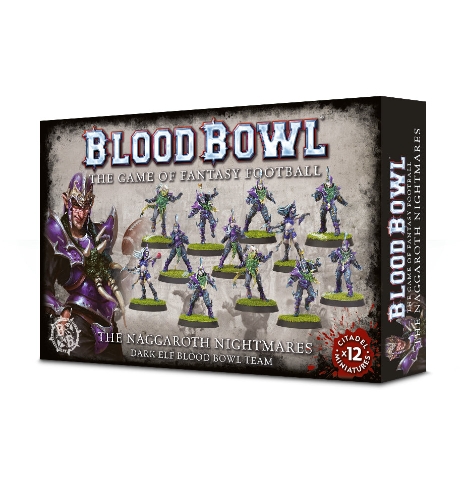 The Naggaroth Nightmares - Dark Elf Blood Bowl Team | Mythicos