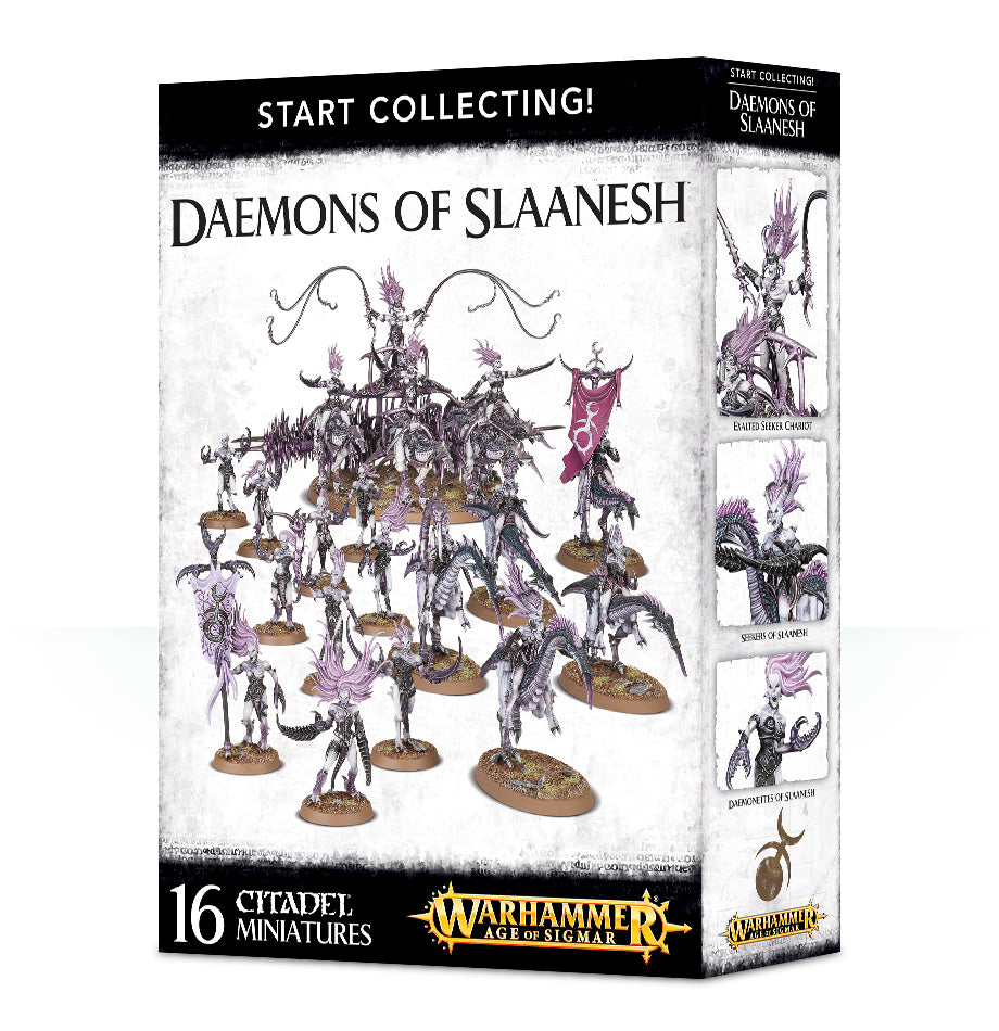 Start Collecting! Daemons of Slaanesh | Mythicos