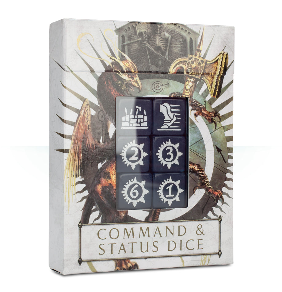Age of Sigmar: Command & Status Dice (Out of Print) | Mythicos