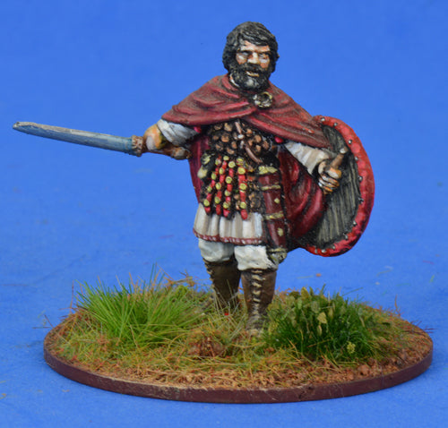 AAB01b Briton Warlord on foot | Mythicos