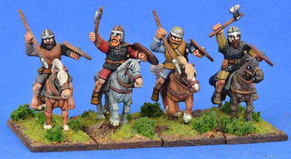 AAP03 Pict Nobles Mounted (Hearthguard) (1 point) (4) | Mythicos