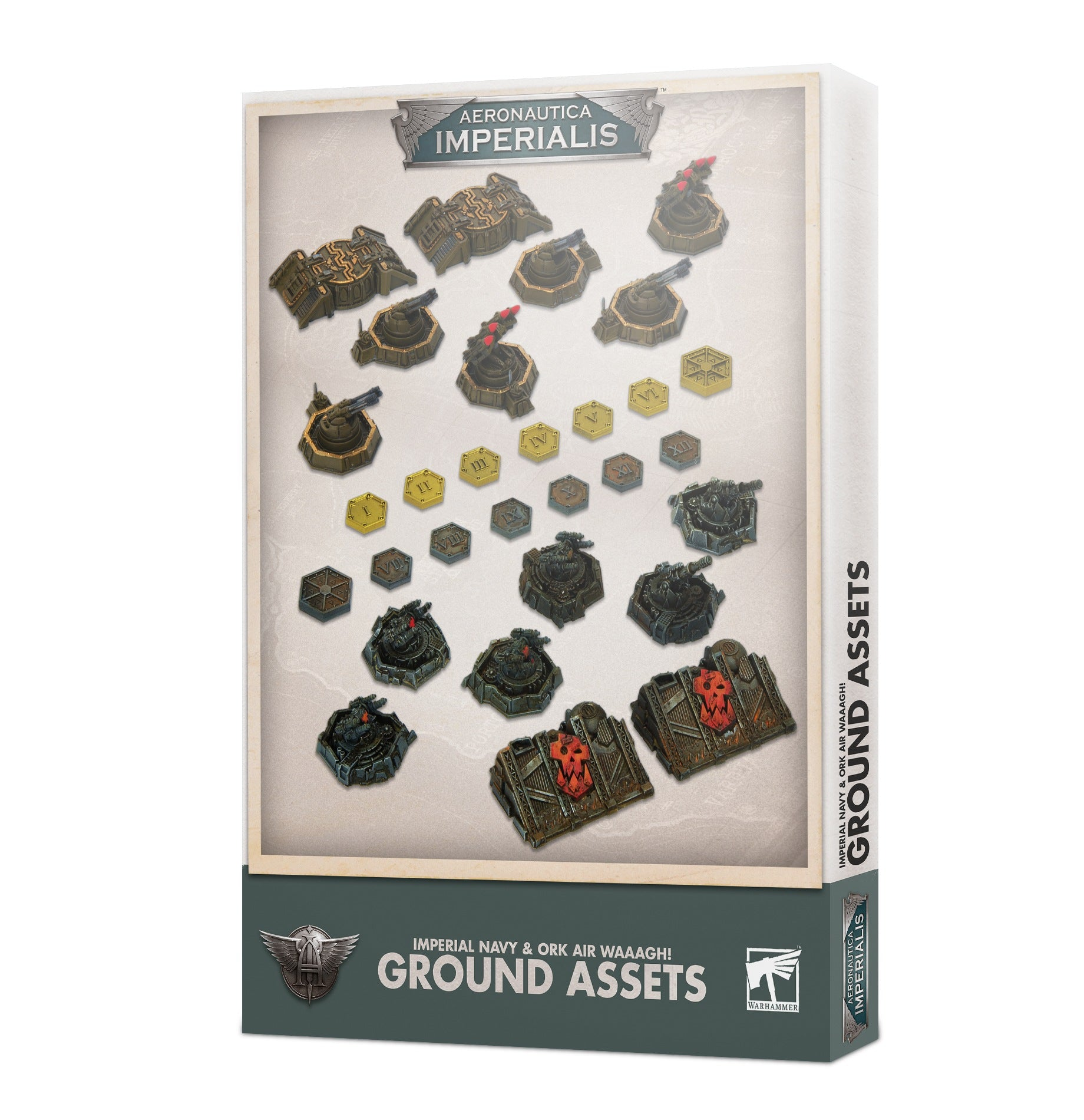 Aeronautica Imperialis Ground Assets and Objectives | Cascade Games | New Zealand