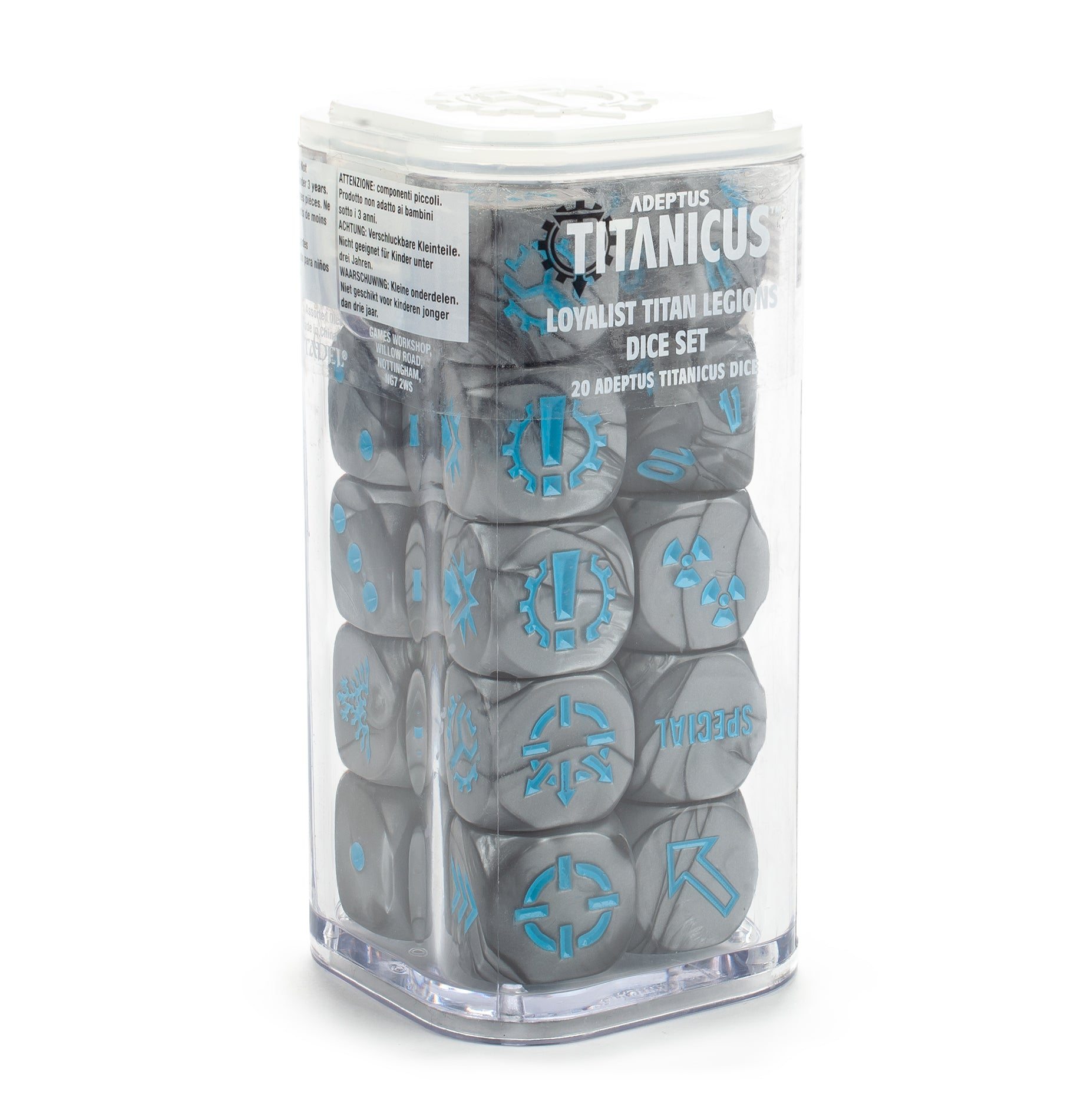 Loyalist Titan Legion Dice (Out of Print) | Mythicos