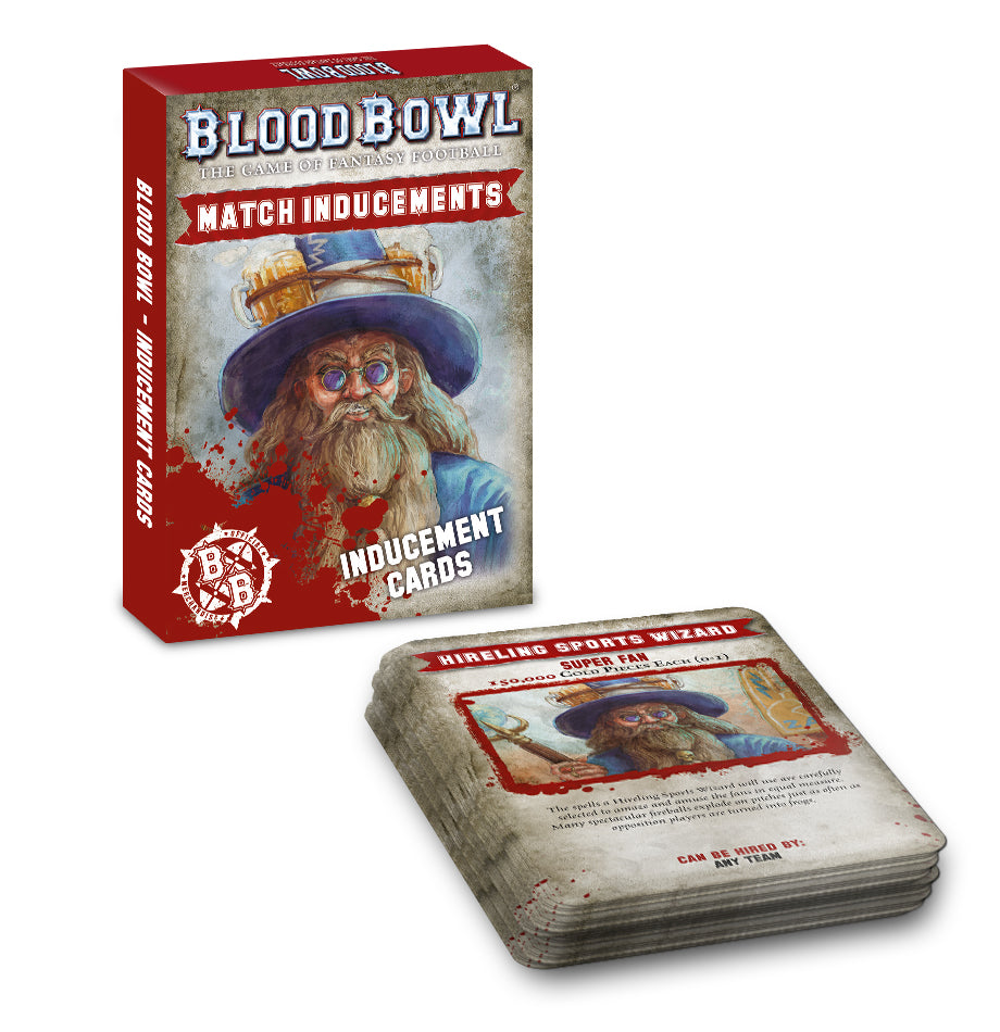 Blood Bowl: Inducement Cards (Out of Print) | Mythicos