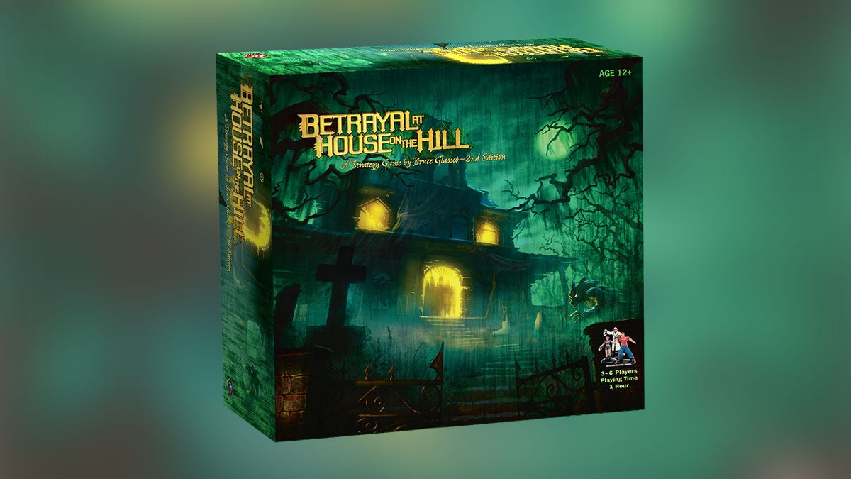 Betrayal At House On The Hill - 2nd Edition | Mythicos