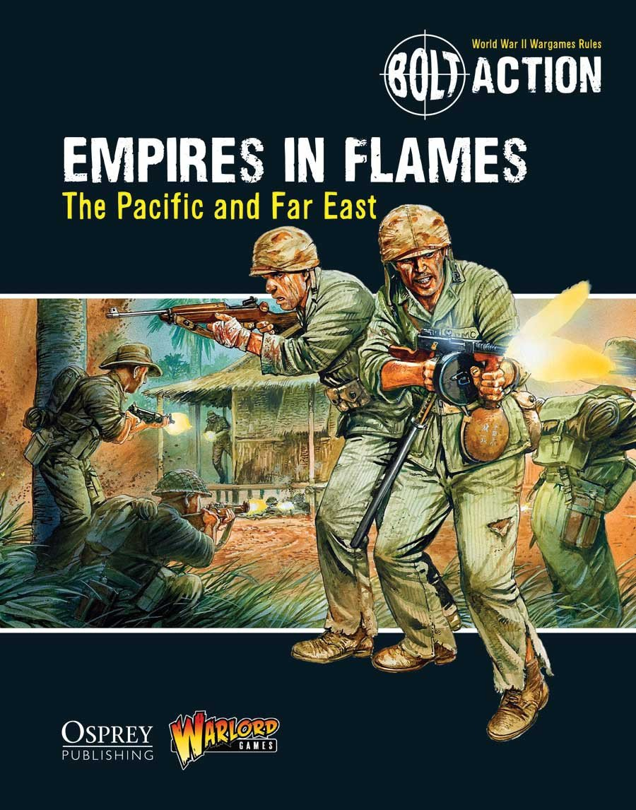 Empires in Flames: The Pacific and Far East - Bolt Action Theatre Book | Mythicos