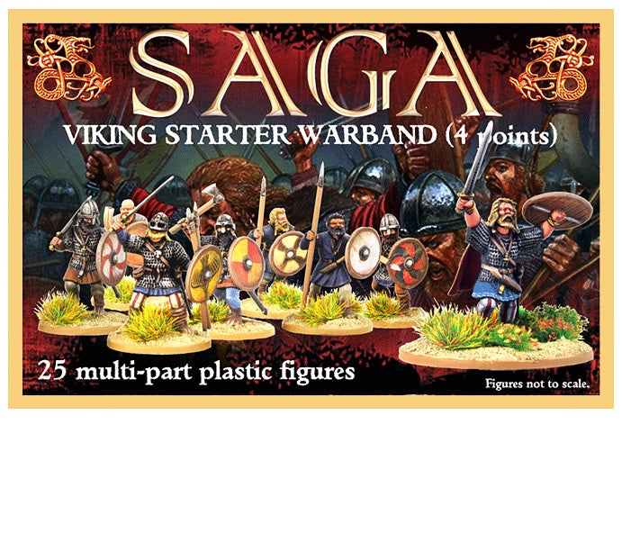 Viking Starter Warband (4 Points) | Mythicos