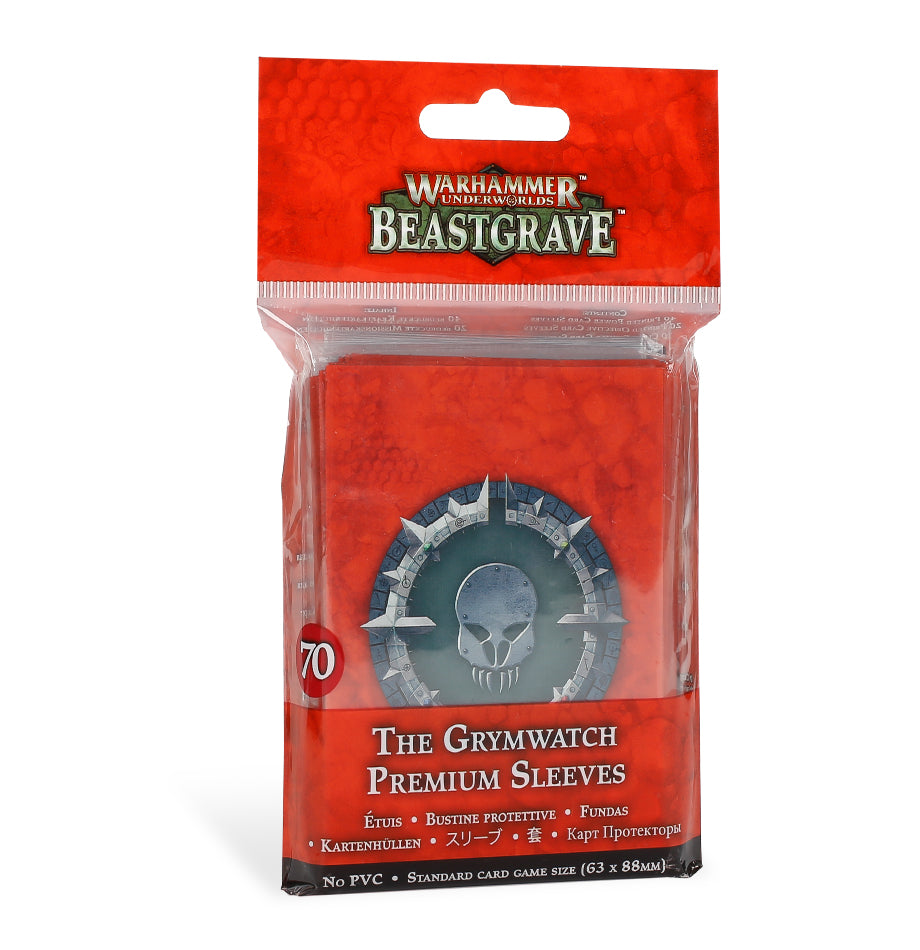 The Grymwatch Premium Sleeves (Out of Print) | Mythicos