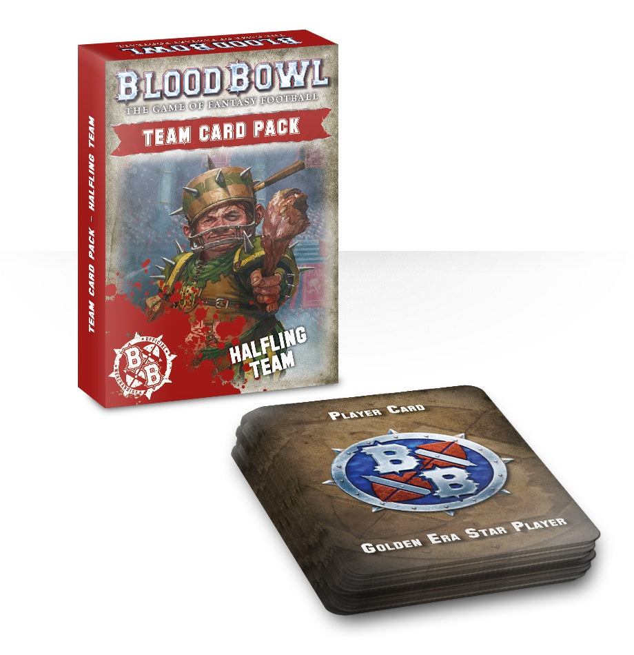 BloodBowl Halfling Team Card Pack (Out of Print) | Mythicos