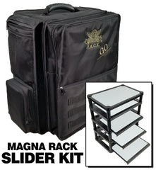 (Go) P.A.C.K. Go 2.0 with Magna Rack Slider Load Out (Black) | Mythicos
