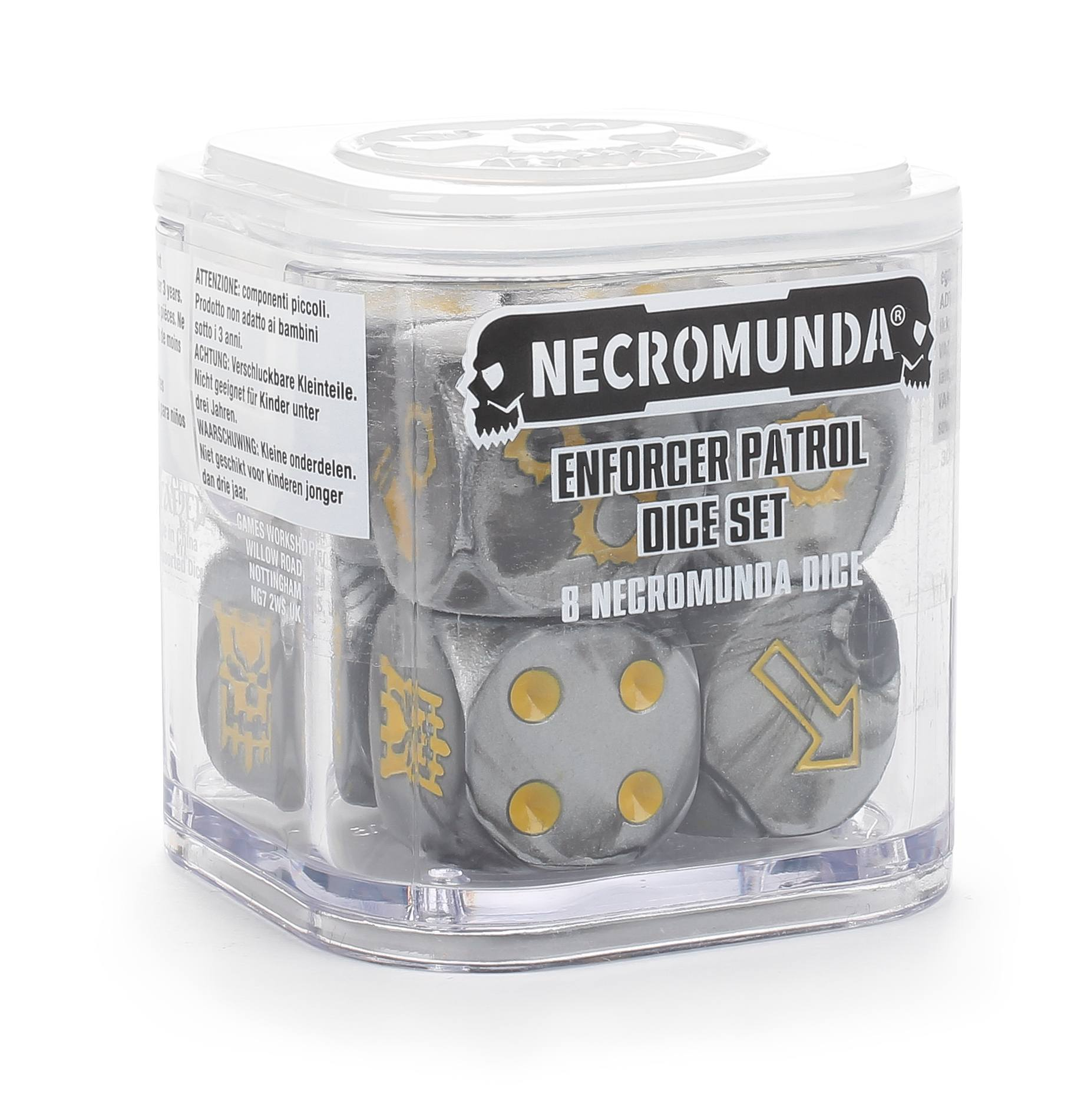 Enforcer Patrol Dice Set (Out of Print) | Mythicos