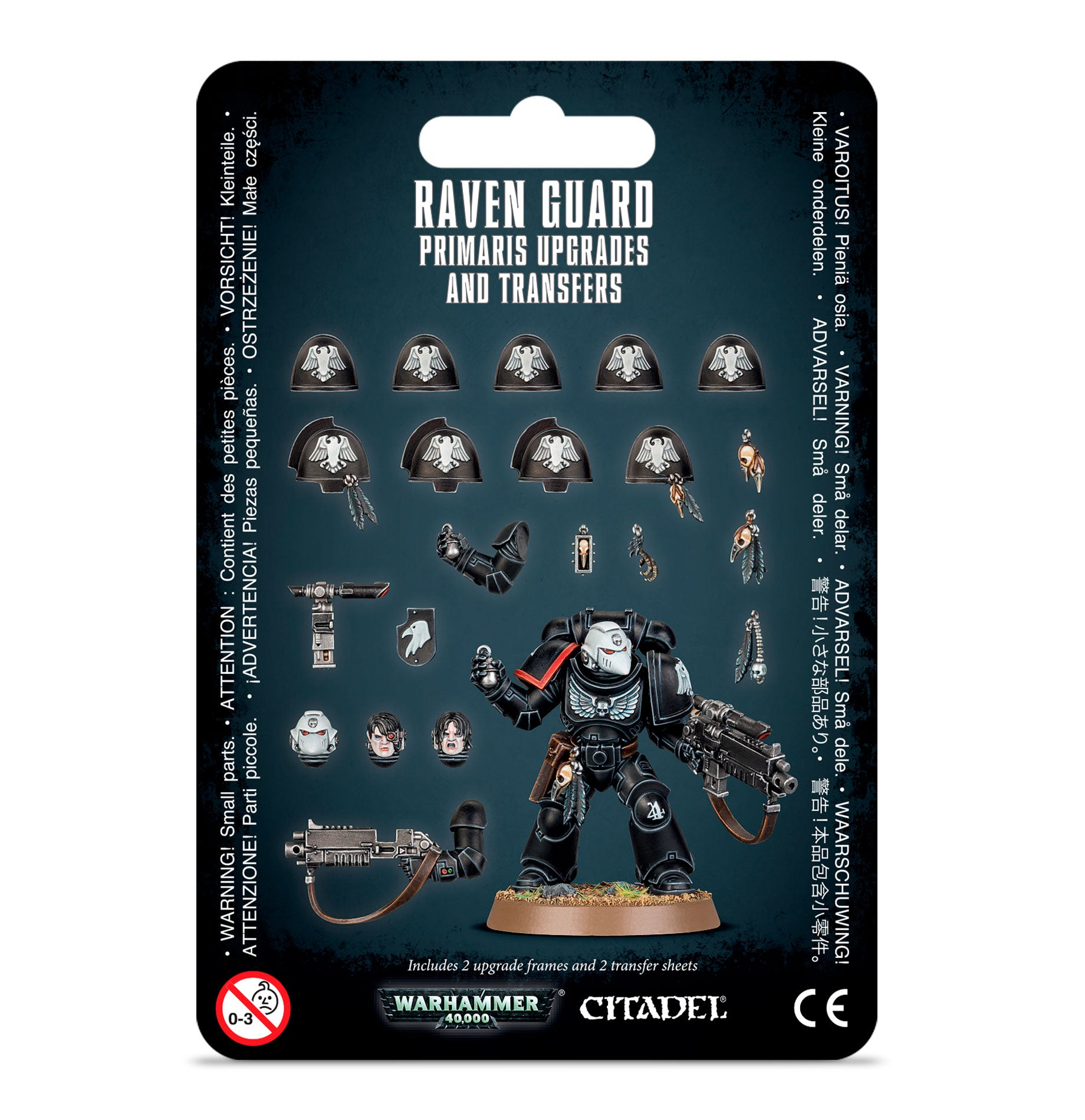 Raven Guard Primaris Upgrades and Transfers | Mythicos