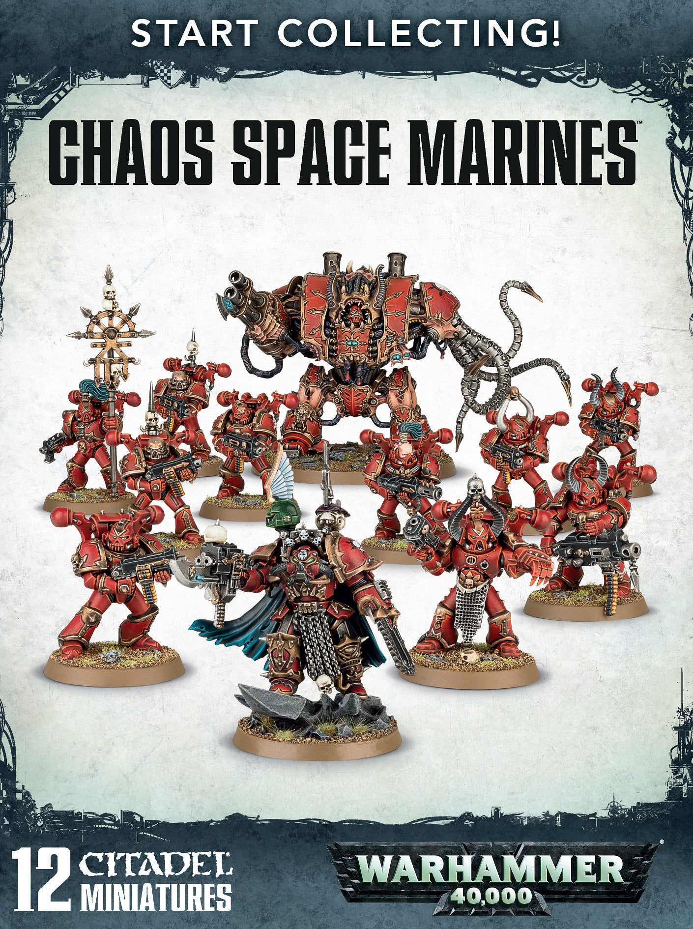 Start Collecting! Chaos Space Marines (Out of Print) | Mythicos