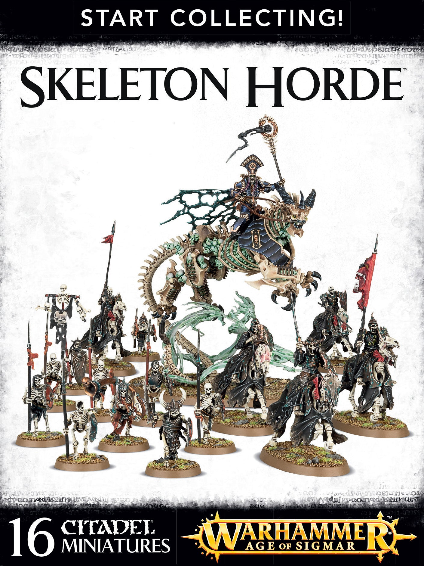 Start Collecting! Skeleton Horde | Mythicos