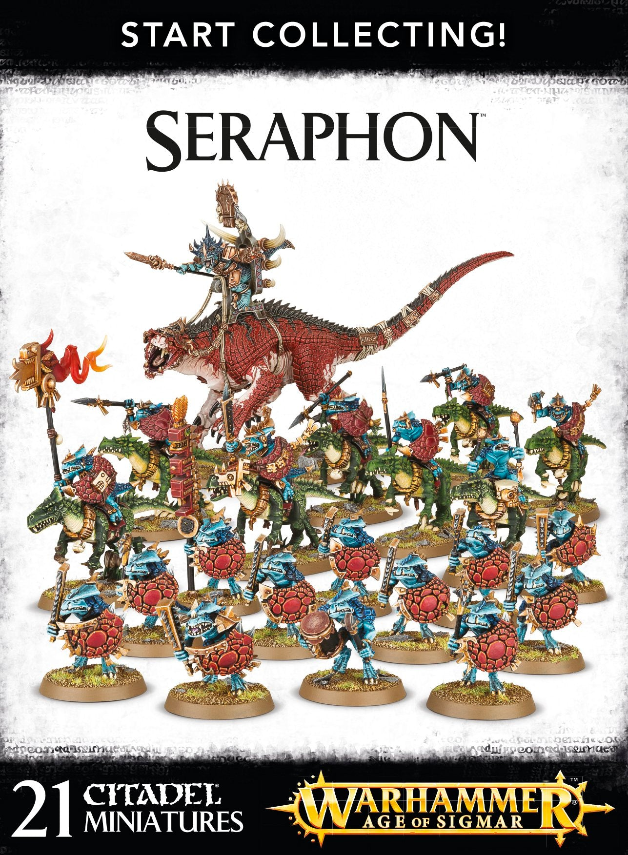 Start Collecting! Seraphon | Mythicos