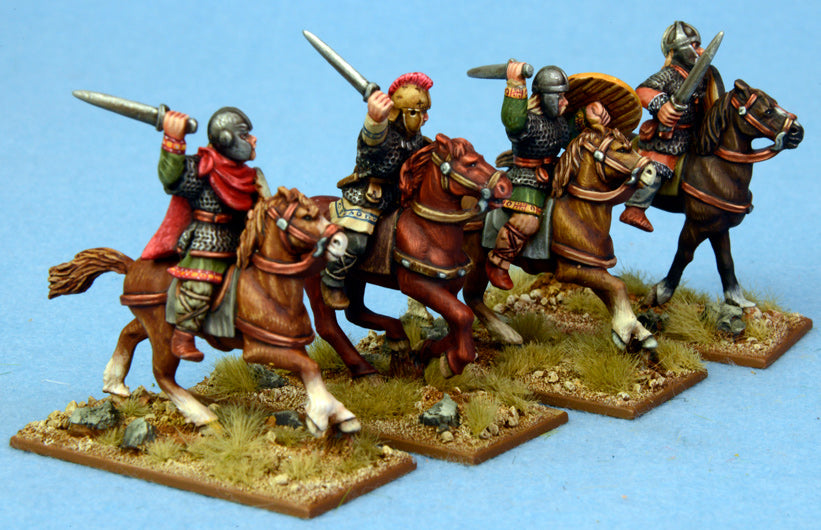 SGH02 Mounted Goth Hearthguard (4) | Mythicos