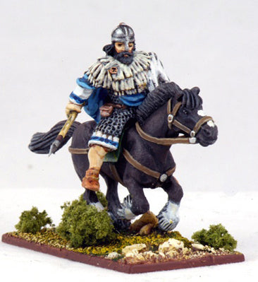 SI01d Mounted Irish Warlord with Spear (1) | Mythicos