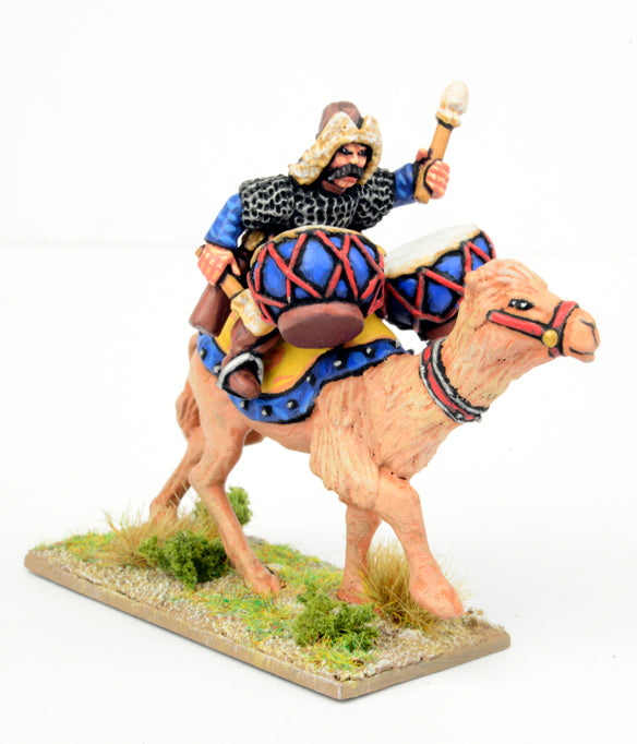 SMG02 Mongol Wardrummer on Camel | Mythicos