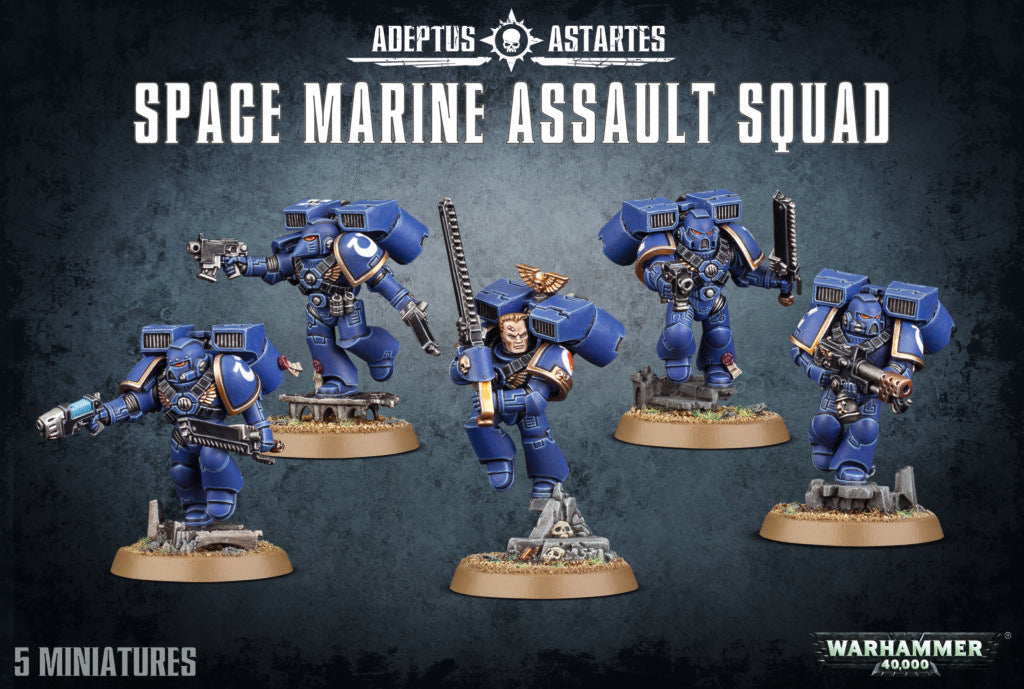 Space Marine Assault Squad | Mythicos