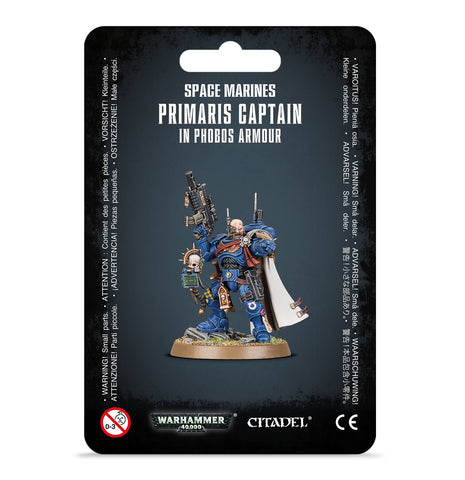 Primaris Captain in Phobos Armour (Pre-Order) (Releases: 8/24/2019)