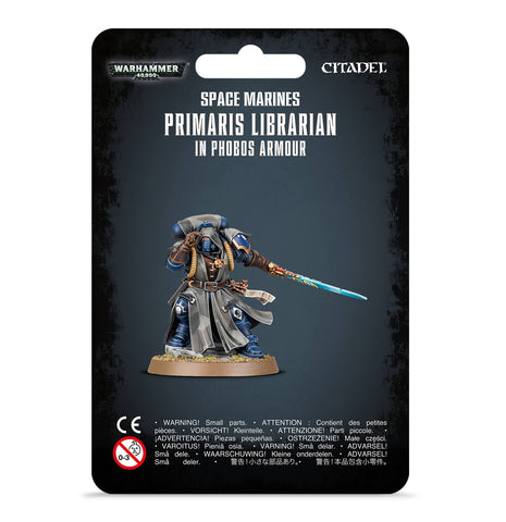 Primaris Librarian in Phobos Armour (Pre-Order) (Releases: 8/24/2019)