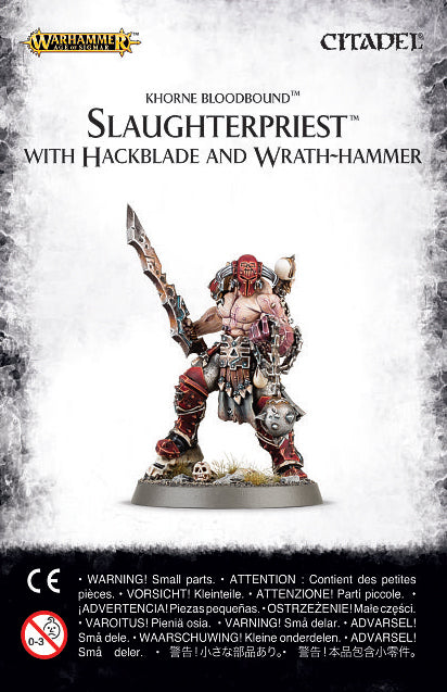 Slaughterpriest with Hackblade and Wrath-Hammer | Mythicos