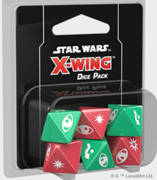 X-Wing Dice Set | Mythicos