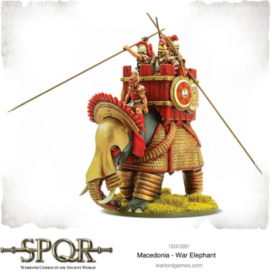 Macedonia War Elephant | Mythicos