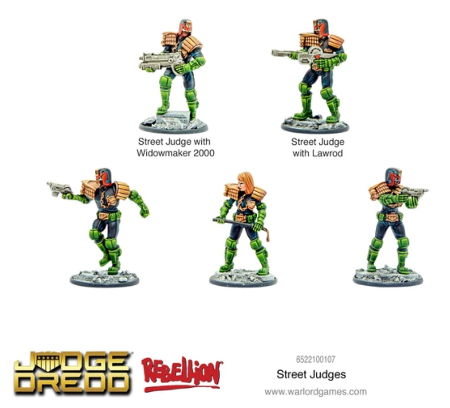 Dredd: Street Judges | Mythicos
