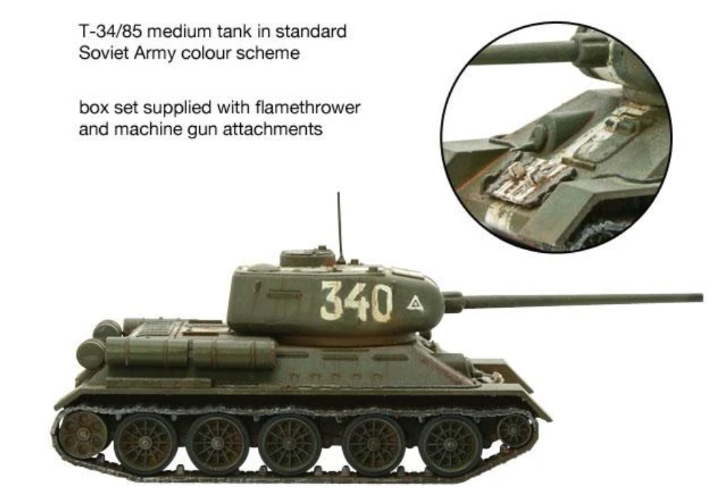 T-34/85 Medium Tank | Mythicos